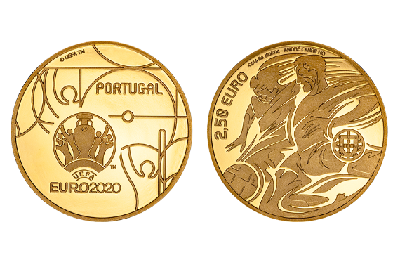 Foto 1 do produto UEFA Euro 2020 (ouro proof)