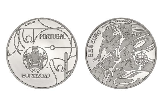 Foto 1 do produto UEFA Euro 2020 (prata proof)
