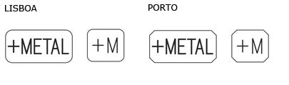 Artefactos compostos constituídos por metal precioso e metal comum